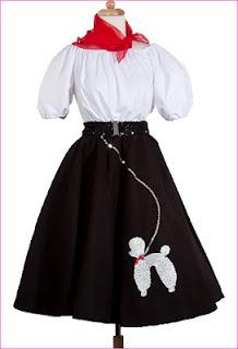 Hey Viv Poodle Skirt at www.HeyViv.com