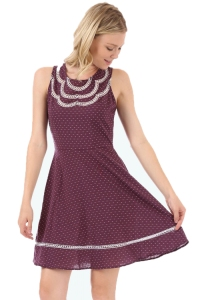 Polka Dot Blossom Dress  - by Doe & Rae