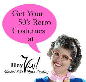 50 Style Clothing and Costumes at Hey Viv ! Retro Clothing
