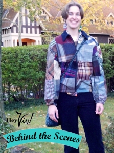 Plaid Wool Jacket from Antique Boutique
